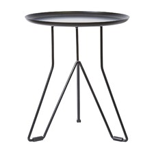 Levon Iron Side Table