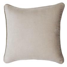 Beige Gabriel Velvet Cushion