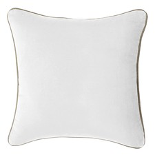 White Gabriel Velvet Cushion