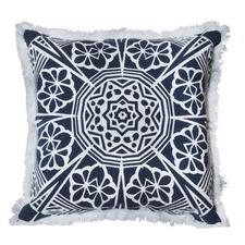 Indigo Ronan Cotton Cushion