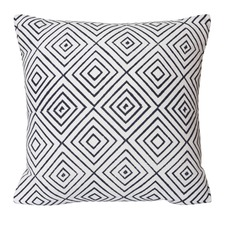 Indigo Mavis Cotton Cushion