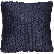 Winnipeg Ruched Velvet Cushion