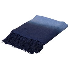 Indigo & Blue Rise Throw