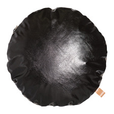 Black & Grey Parker Round Cushion