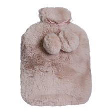 Amara Faux Fur Hot Water Bottle Cover
