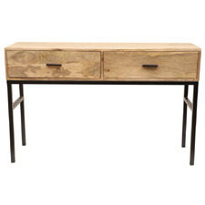 Natural Haines Console Table