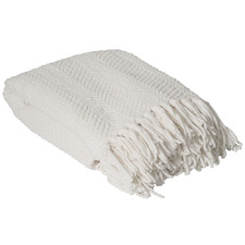 Ivory Louie Knitted Throw