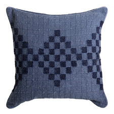 Indigo Johanna Cotton Cushion