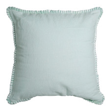 Mint Cala Cotton & Linen Cushion