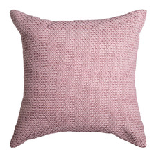 Rose Pink Taylor Jacquard Cotton Cushion