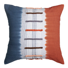 Indigo & Rust Camryn Cotton Cushion