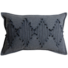 Charcoal Cosmo Cotton Cushion