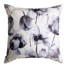 Ivory & Charcoal Freya Cotton Cushion