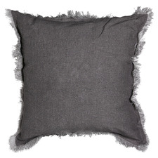 Charcoal Mercer Linen Cushion