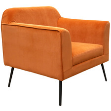 Margot Velvet Accent Chair