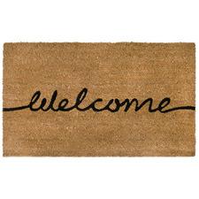 Welcome Printed Coir Doormat