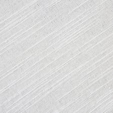 White Neva Cotton-Blend Round Tablecloth