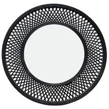Duke Round Bamboo Wall Mirror