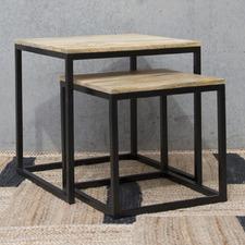 2 Piece Houston Side Table Set