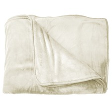 Ivory Supersoft Blanket