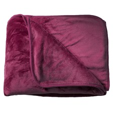 Plum Supersoft Blanket