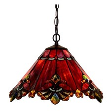 Admiral Tiffany Leadlight Ceiling Light
