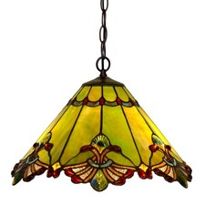 Secret Garden Tiffany Ceiling Light