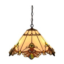 Desert Garden Tiffany Ceiling Light