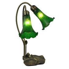 Two Branch Gooseneck Lily Lamp