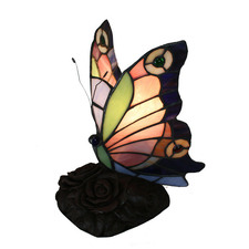 Butterfly Panal Table Lamp in Pink