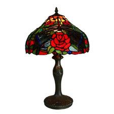 Leadlight Table Lamp 50cm
