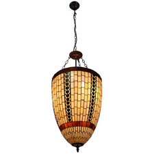 Filigree Tiffany-Style Pendant Light