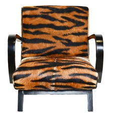 Faux Bengal Tiger Chair