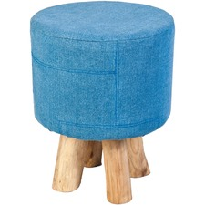 Embani Denim Stool