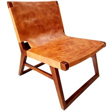 Tan Chelsea Leather Chair