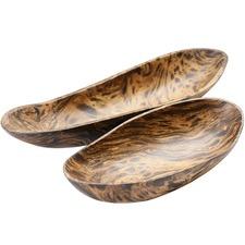 Tortoise Mango Wood Bowls (Set of 2)