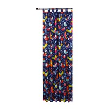 Bright Birds Tab Top Curtain Set