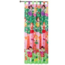 Fairy Tree Tab Top Curtain Set