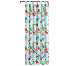 Summer Birds Tab Top Curtain Set