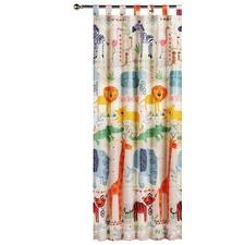 African Jungle Tab Top Curtain Set