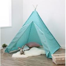 Turquoise Teepee Tent