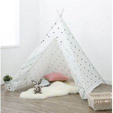 Large Check Teepee Tent