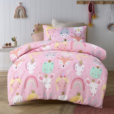 Magical Friends Glow In The Dark Quilt Cover Set