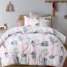 Lovely Koalas Glow-In-The-Dark Comforter Set