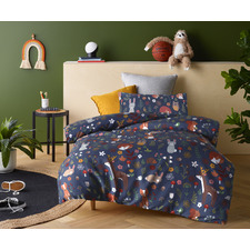 Nature Forest Glow-in-the-Dark Quilt Cover Set