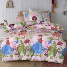 Fairy Tales Glow-in-the-Dark Quilt Cover Set