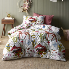 Habitat Printed Cotton Reversible Single Comforter Set