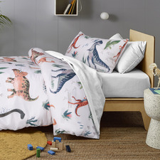 Dino Land Glow in the Dark Quilt Cover Set