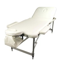 Portable Aluminium Beauty Massage Table Chair Bed 3 Fold