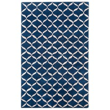Classic Theme Designer Hand-Tufted Wool & Silk Rug